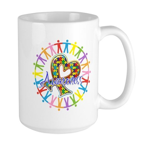 Autism Unite in Awareness Large Mug