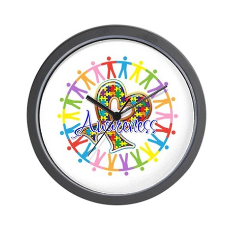 Autism Unite in Awareness Wall Clock