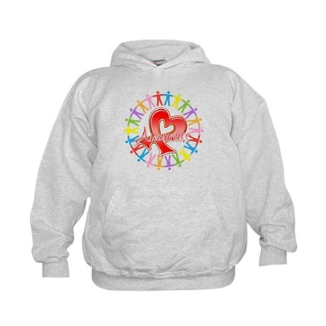 Blood Cancer Unite Awareness Kids Hoodie
