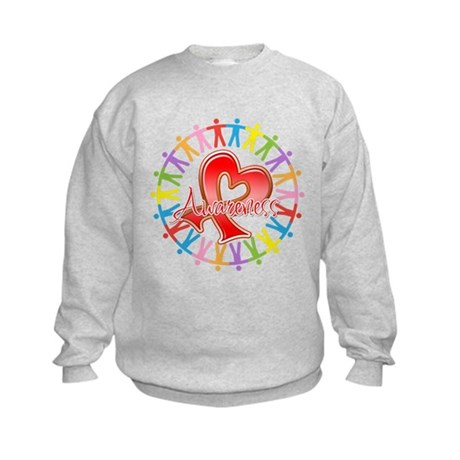 Blood Cancer Unite Awareness Kids Sweatshirt