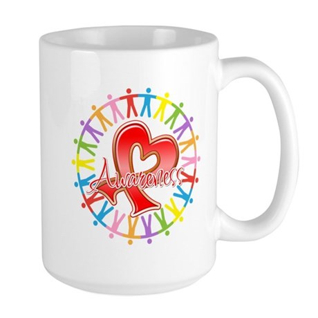 Blood Cancer Unite Awareness Large Mug