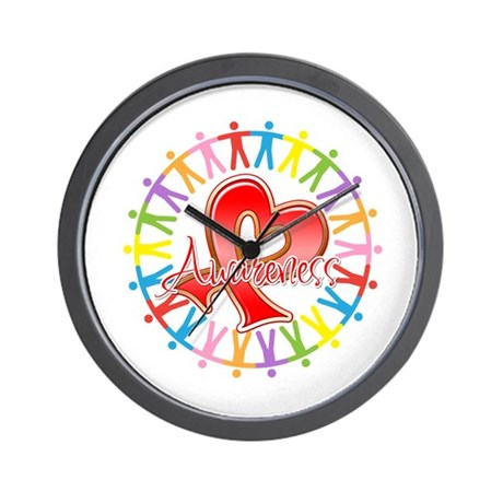 Blood Cancer Unite Awareness Wall Clock