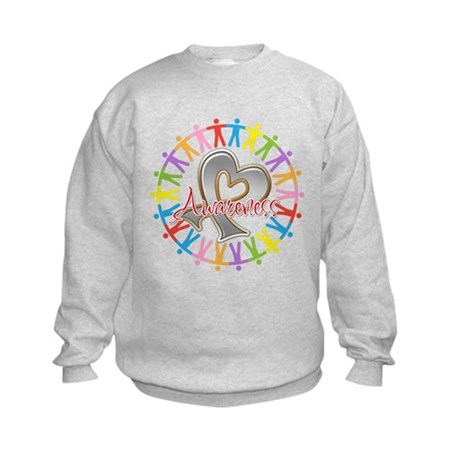 Brain Cancer Unite Awareneness Kids Sweatshirt