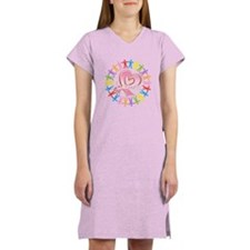 Breast Cancer Unite Awareness Women's Nightshirt
