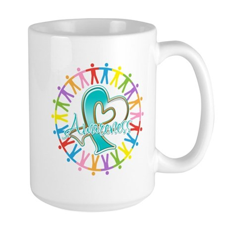 Cervical Cancer Unite Awareness Large Mug