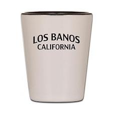 Los Banos California Shot Glass