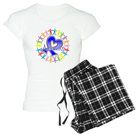 Colon Cancer Unite Awareness Women's Light Pajamas