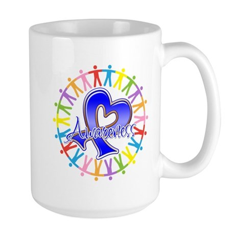 Colon Cancer Unite Awareness Large Mug