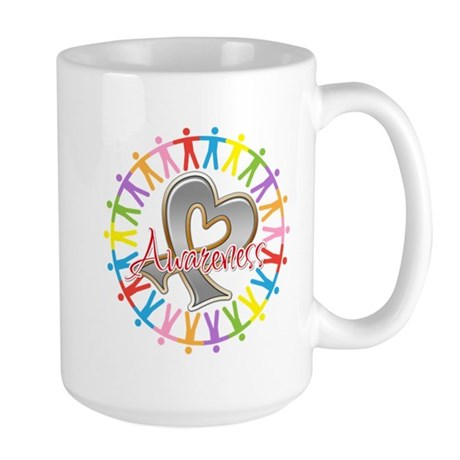 Diabetes Unite in Awareness Large Mug