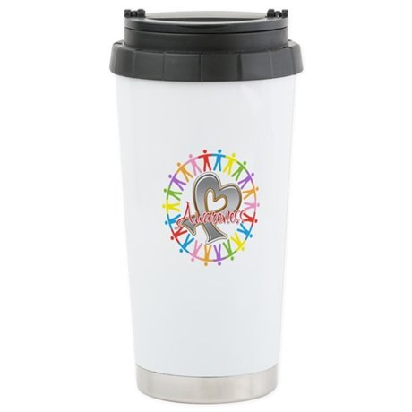 Diabetes Unite in Awareness Ceramic Travel Mug