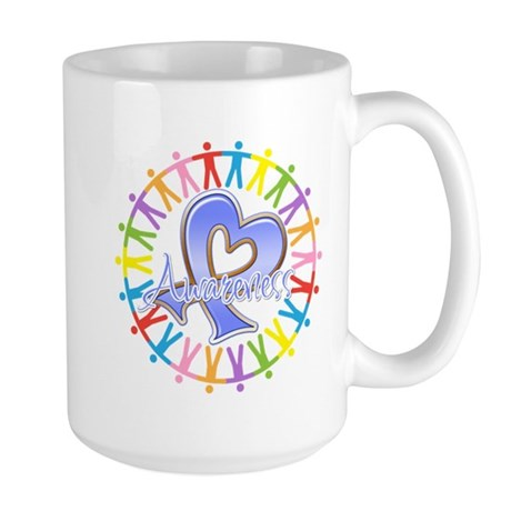 Esophageal Cancer Unite Large Mug