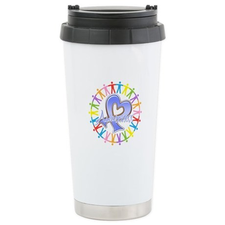 Esophageal Cancer Unite Ceramic Travel Mug