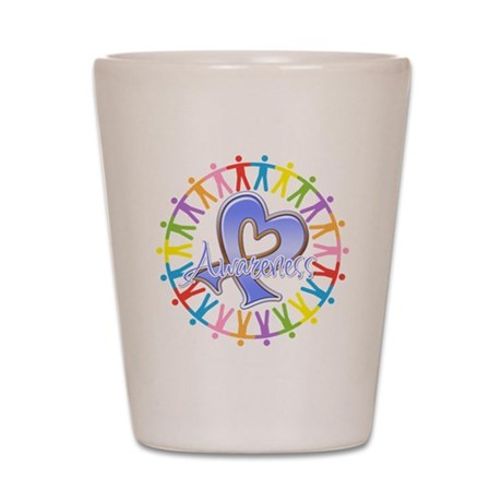 Esophageal Cancer Unite Shot Glass