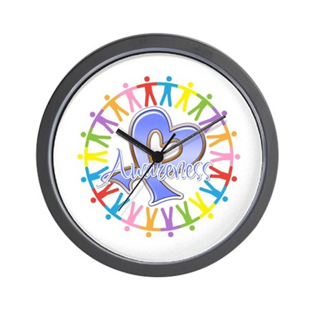 Esophageal Cancer Unite Wall Clock