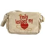 Emily Lassoed My Heart Messenger Bag