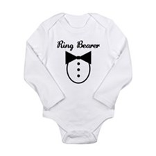 Cute Groom designs Long Sleeve Infant Bodysuit