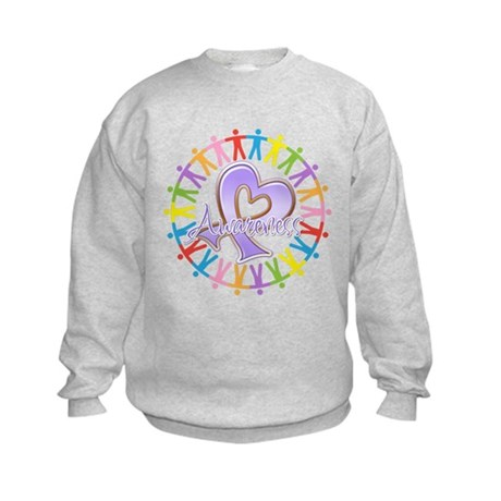 General Cancer Unite Kids Sweatshirt