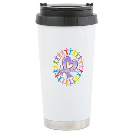 General Cancer Unite Ceramic Travel Mug