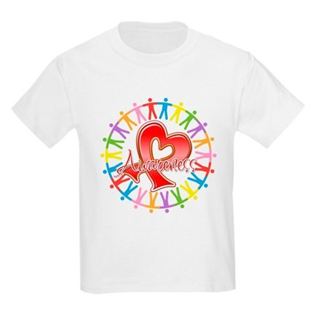 Heart Disease Unite Kids Light T-Shirt