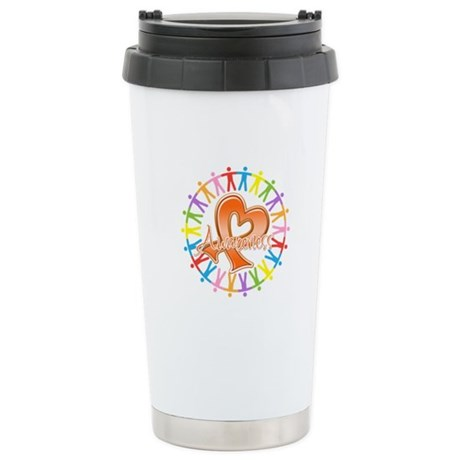 Leukemia Unite Awareness Ceramic Travel Mug