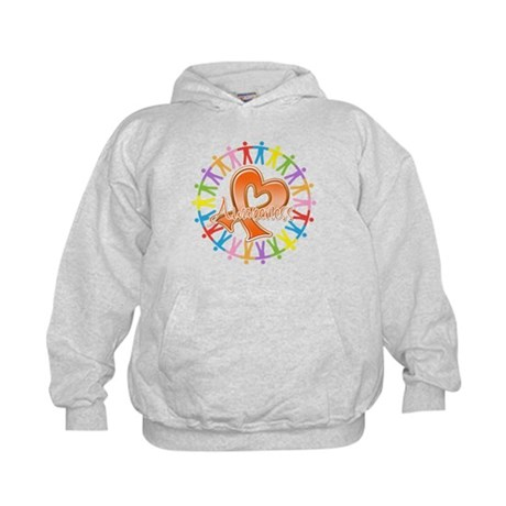 Leukemia Unite Awareness Kids Hoodie