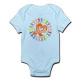 Leukemia Unite Awareness Infant Bodysuit
