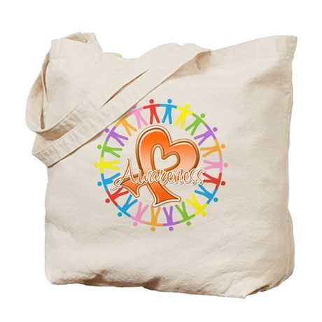 Leukemia Unite Awareness Tote Bag