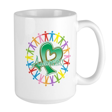 Liver Cancer Unite Awareness Large Mug