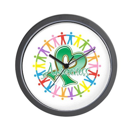 Liver Cancer Unite Awareness Wall Clock