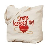 Irene Lassoed My Heart Tote Bag
