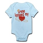 Irene Lassoed My Heart Infant Bodysuit