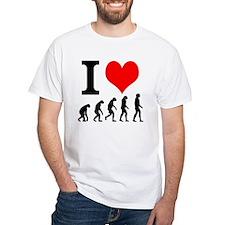 I Heart Evolution Shirt