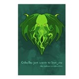 Cthulhu Love Postcards (Package of 8)