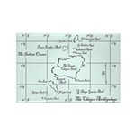 Chagos Chart Rectangle Magnet (10 pack)