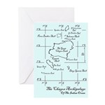 Chagos Chart Greeting Cards (Pk of 20)