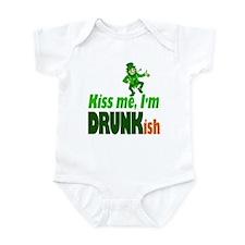Kiss Me I'm Drunkish Infant Bodysuit