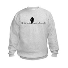 Squatch in these Woods - Finding Bigfoot Jumper Sweater