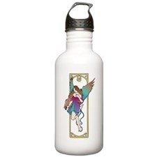 Love & Compassion ~ Pink/teal/Purple Water Bottle