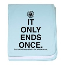 It Only Ends Once baby blanket