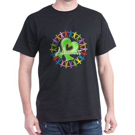 Lymphoma Unite Awareness Dark T-Shirt