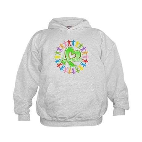 Lymphoma Unite Awareness Kids Hoodie