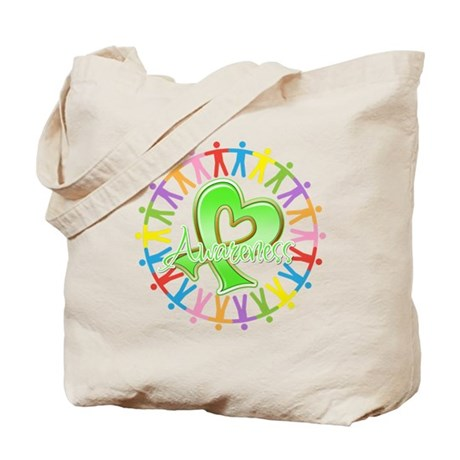 Lymphoma Unite Awareness Tote Bag