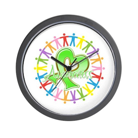 Lymphoma Unite Awareness Wall Clock