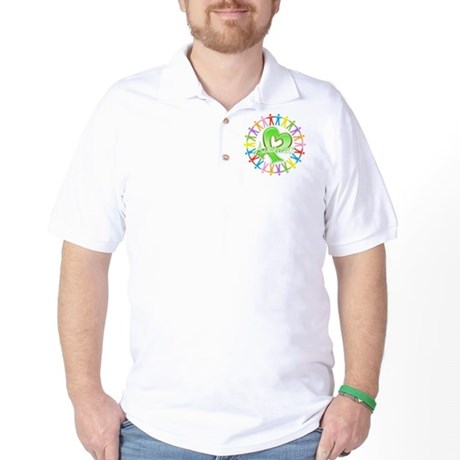 Lymphoma Unite Awareness Golf Shirt
