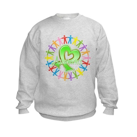 Lymphoma Unite Awareness Kids Sweatshirt