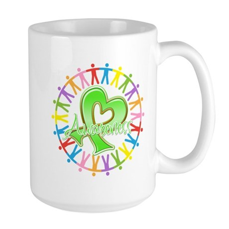 Lymphoma Unite Awareness Large Mug
