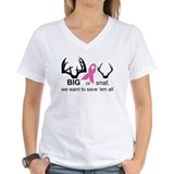 Save the Racks V-Neck T-Shirt