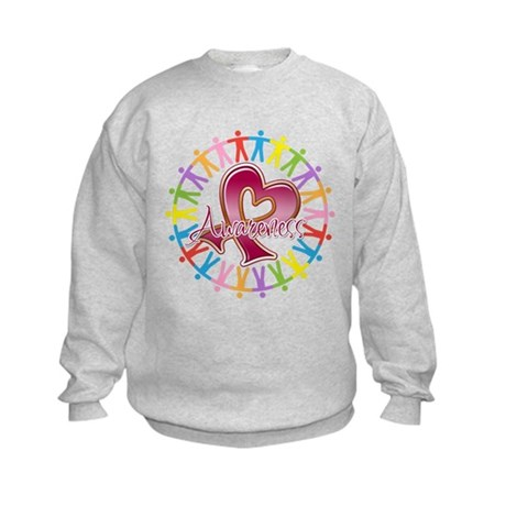 Myeloma Unite Awareness Kids Sweatshirt