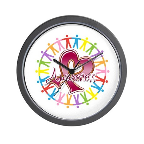 Myeloma Unite Awareness Wall Clock