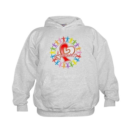 Oral Cancer Unite Awareness Kids Hoodie
